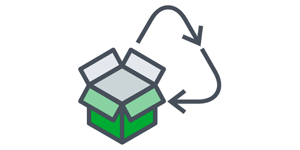 recycle box icon